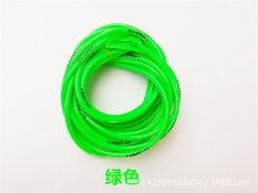 Universal Motorcycle Bike 1M Petrol Fuel Hose Gas Oil Pipe Tube 5mm I/D 8mm O/D OrangePHP322. PHP 324