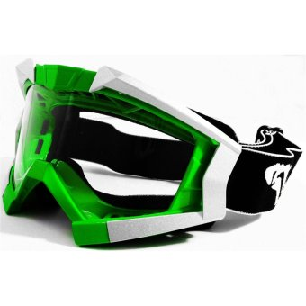 VEGA PL-1017 Motorcycle Goggles Motocross MX Racing (Green)