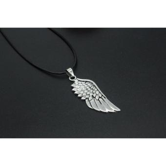 VeryGood Angel wings necklace#877