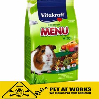 Vitakraft Menu Vital Guinea Pig Food (1kg) for Hamster and RabbitFood