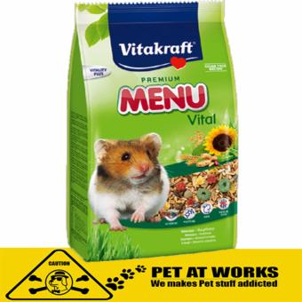Vitakraft Menu Vital Hamster Food (400g) for pets and Hamster Food