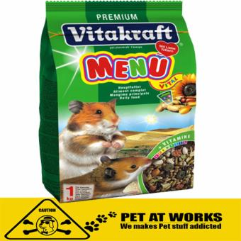 Vitakraft Menu Vital Rabbit Food (1kg) for Hamster and Rabbit Food