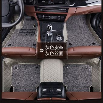 Waterproof Full Set PVC Car Floor Mat