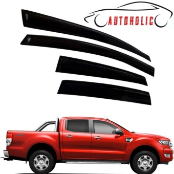 Window visor for Ford Ranger 2017