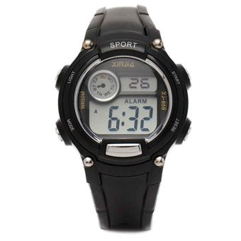 Xinjia Kid's Digital Waterproof Sports Watch XJ-859 Black