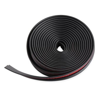 Z type 3M adhesive car rubber seal Sound Insulation , car doorsealing strip weatherstrip edge trim noise insulation - intl