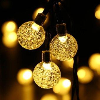 Christmas Solar Powered Globe Lights Warm White 20 Led 4