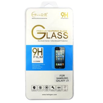 Hello G Premium Tempered Glass For Samsung Galaxy J3