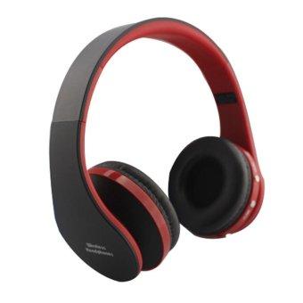 nx 8252 wireless bluetooth headset red lazada ph. Black Bedroom Furniture Sets. Home Design Ideas