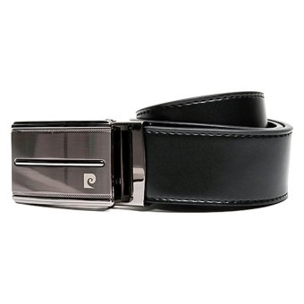 cardin genuine leather belt black lazada ph