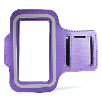 Sports Armband For Samsung Galaxy J3 2016 Purple