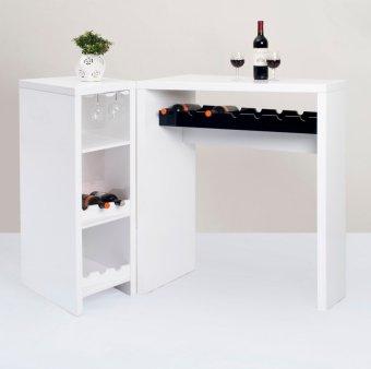 Wine Bar Counter Set Of 2 Lazada PH