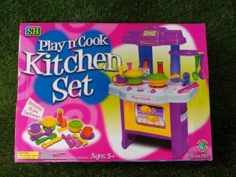 Zyt enterprises bodegasurplusdepot play n cook kitchen set for Kitchen set lazada