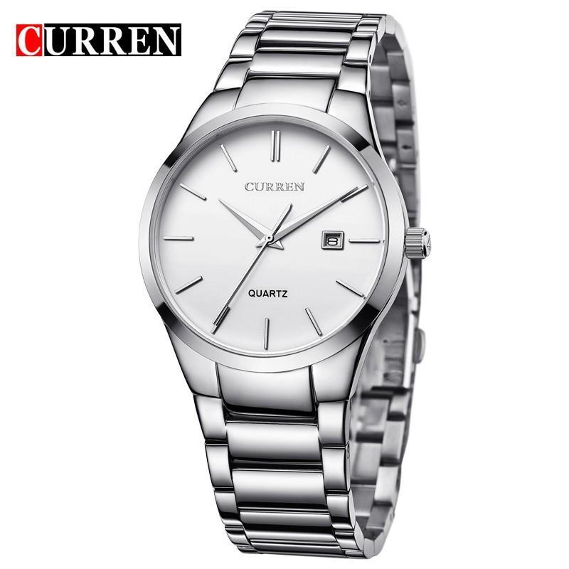 ac357bcd5411 Curren Luxury Brand Men Fashion Business Calendar Watch Men Water Resistant  Quartz Watch 8106