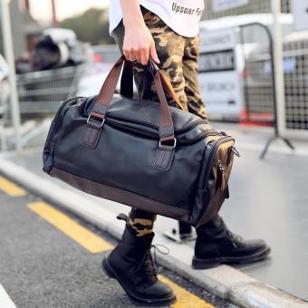 Pencarian Termurah Model baru Kapasitas Sangat Besar tas travel portabel  Pria dan wanita tas bahu dengan 2ef19a7479