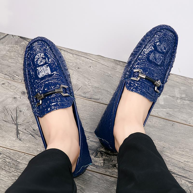 Toursh Korea Pria Sepatu Doug Sepatu Kasual (Biru) ?Free Shipping? - 4