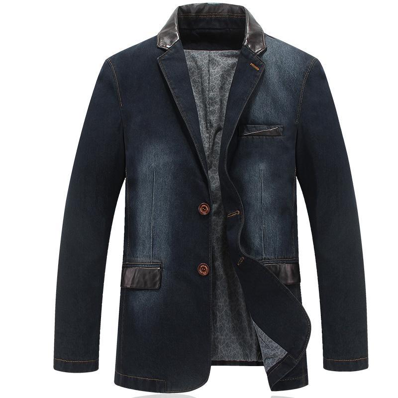 ZHAN DI JI Ji taman Musim Semi dan Musim Gugur Pria jaket pakaian pria anak muda
