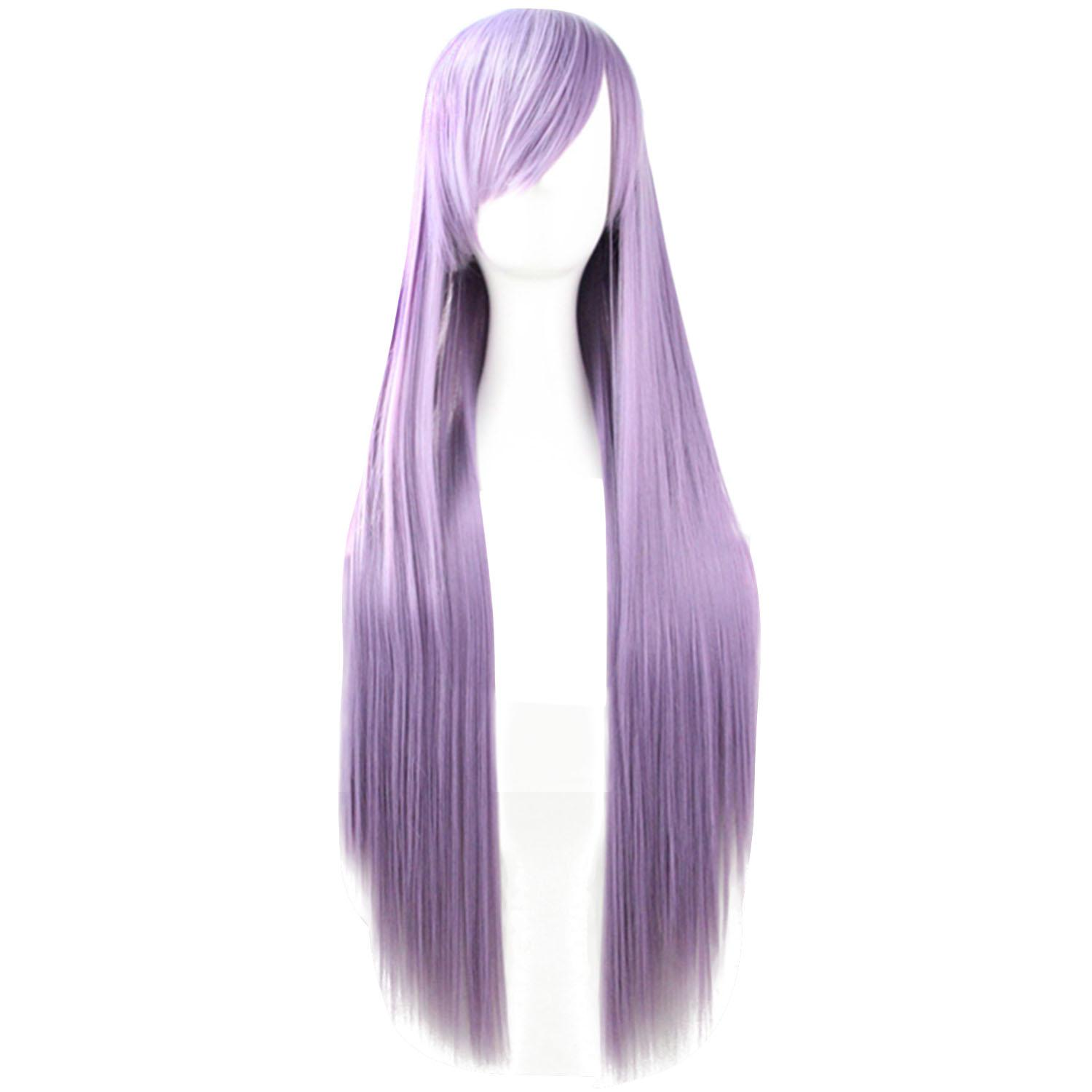 Boom Shakalaka 80cm 32inch Length Fashion Colorful Cosplay Long Straight Hair Extensions Wig for Masquerade Party