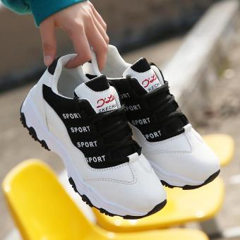 Harga preferensial Gaya Korea netral Harajuku bernapas sepatu olahraga  wanita casual sepatu putih kecil wanita Sepatu 4185f7edd7