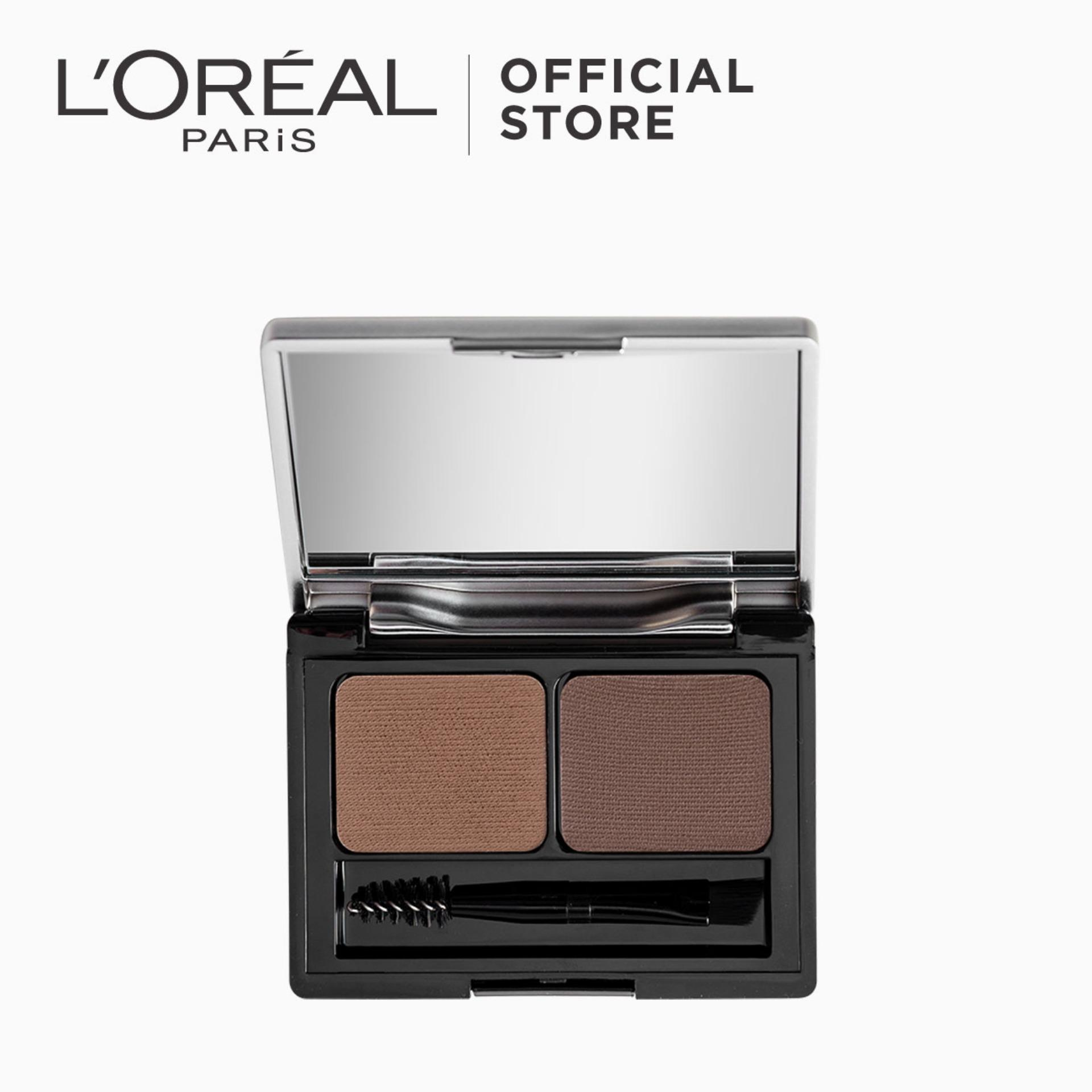 Genius Kit Shaping Eyebrow Palette - Dark Brown 02 by LOréal Paris Brow Artist Philippines
