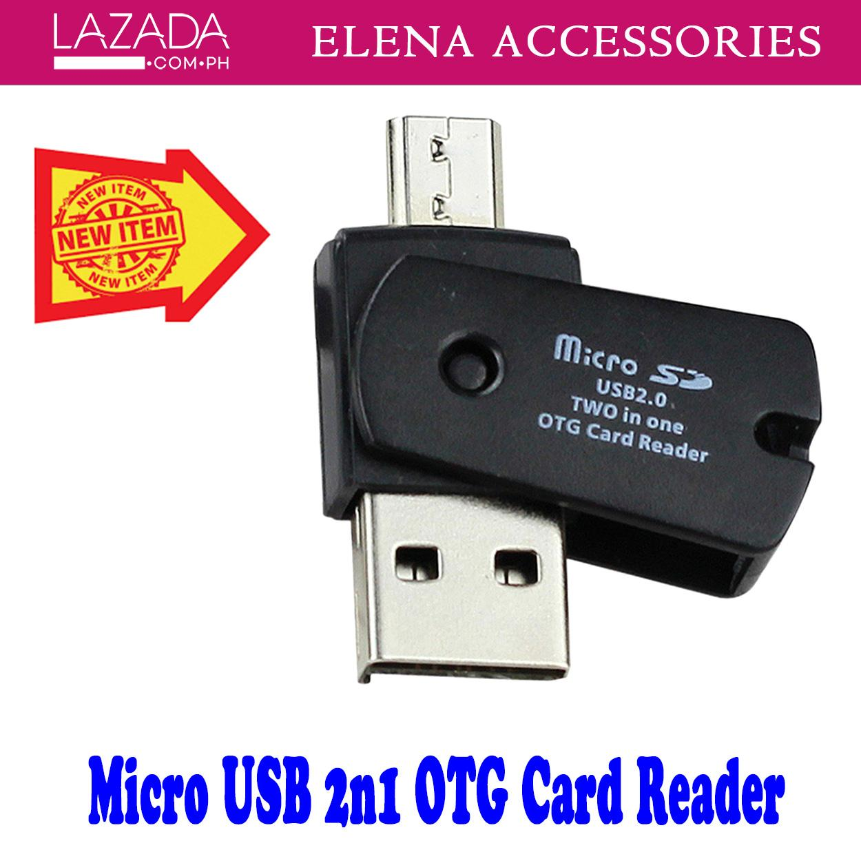 For All Android Phones External Portable USB OTG SD Card Reader Adapter