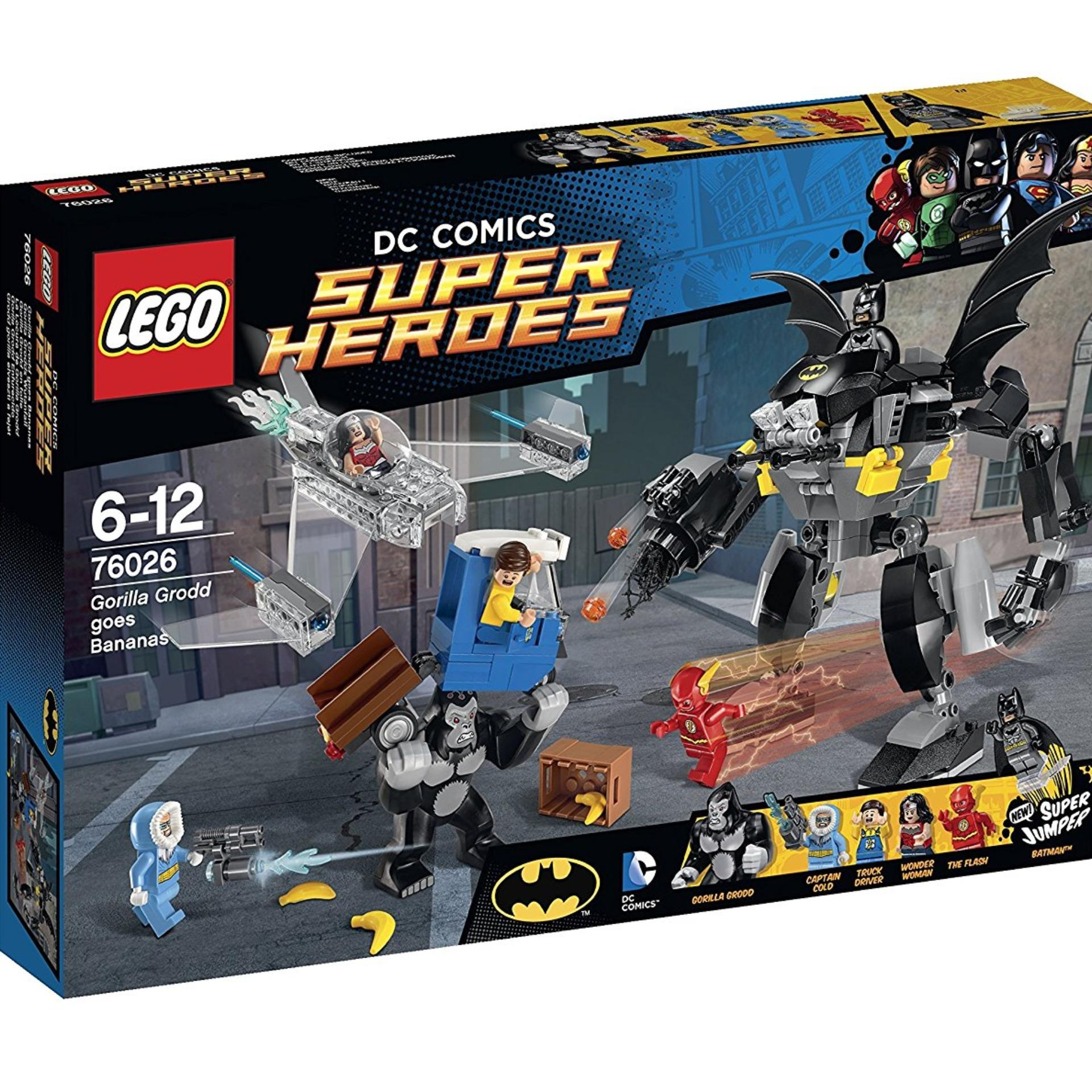 Buy Sell Cheapest Super Hero Legoing Best Quality Product Deals Bricks Decool 7111 Tumbler Lego Dc Heroes