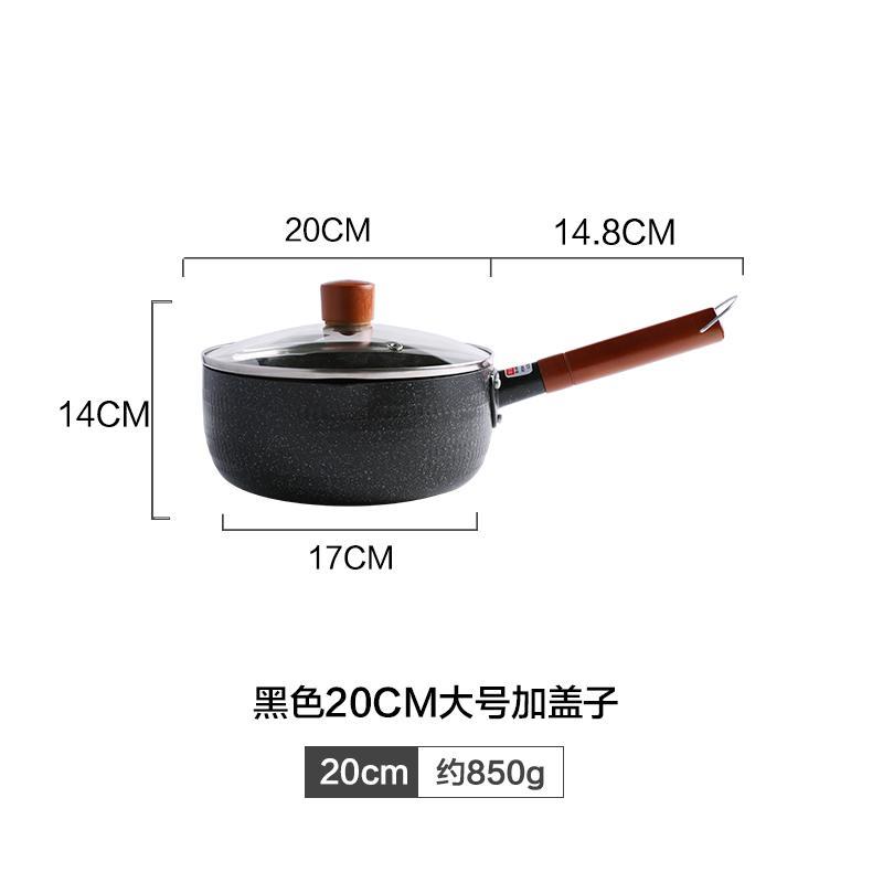 Kawasimaya Panci Panci Panci Panci Panci Hitam Jepang Panci Susu Multifungsi Kecil