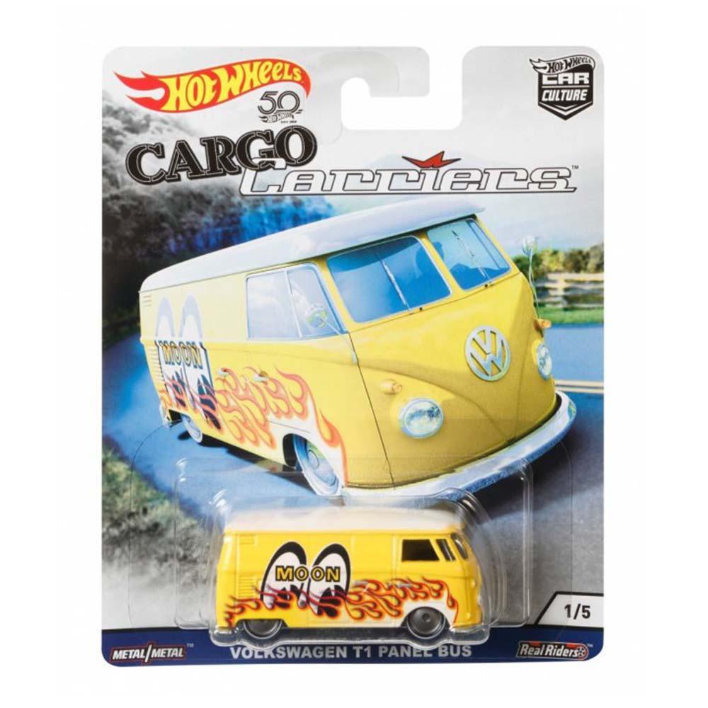 Hot Wheels Car Culture Cargo Carriers - Volkswagen T1 Panel Bus