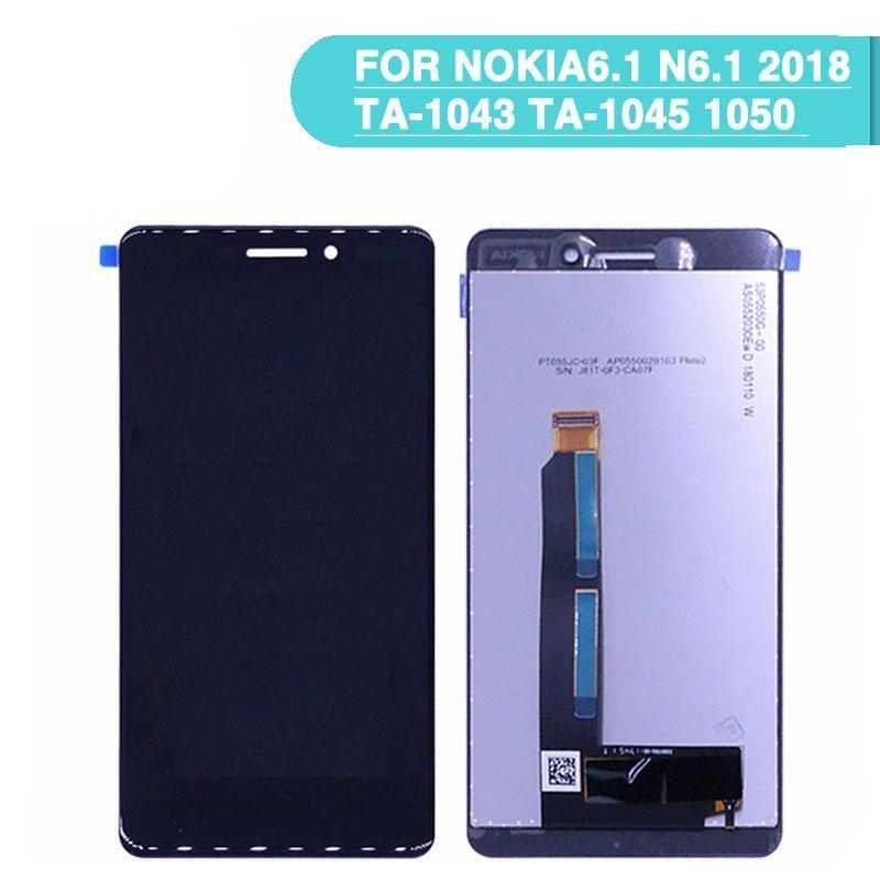 For Nokia N6.1 2018 Màn hình LCD + Số hóa màn hình cảm ứng + Dụng cụ sửa chữa