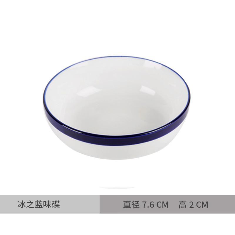 Gaya jepang keramik piring 7-inch 8-inch orisinalitas Sakura cherry peralatan makan sushi
