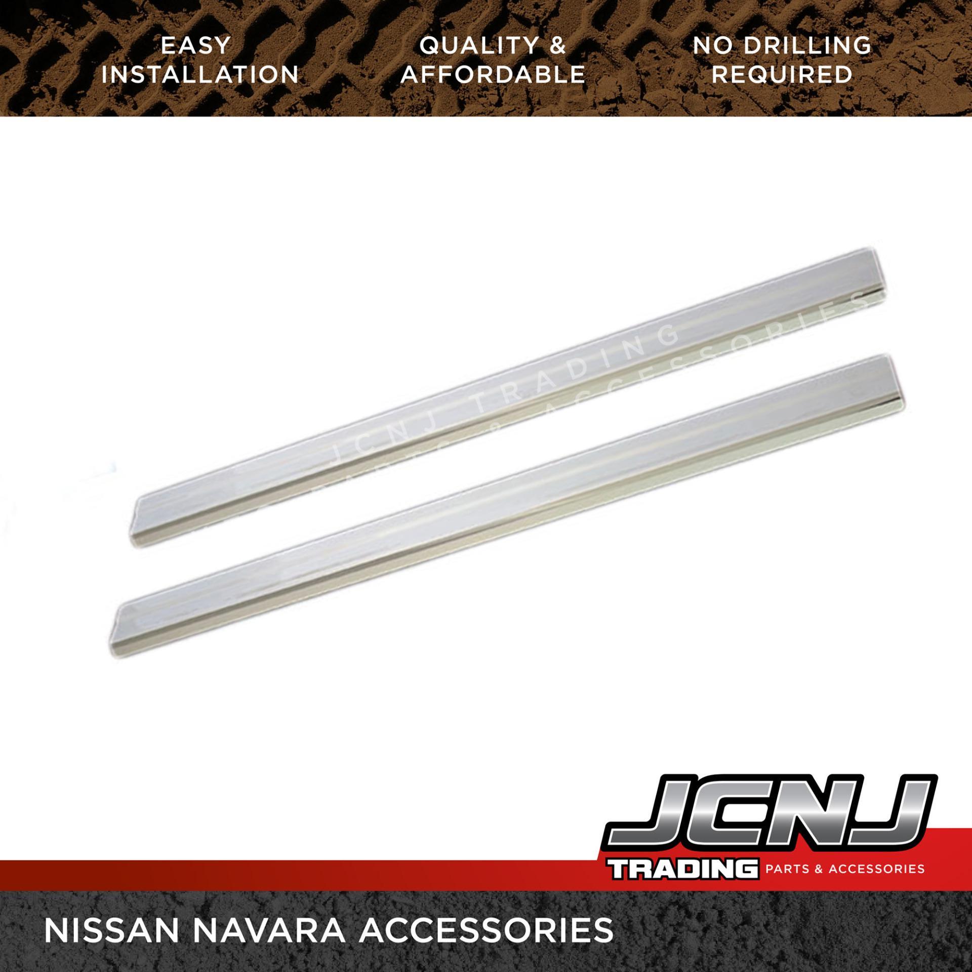 NISSAN NP300 NAVARA Stainless Door Sill Inside Thresholds Set of 4