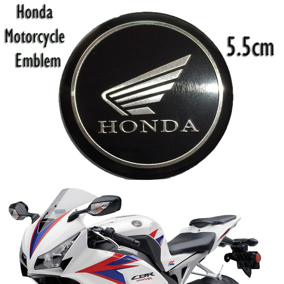Honda motorcycle logo 3d aluminum sticker decals emblem