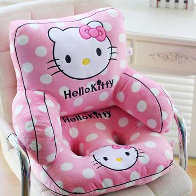 Cartoon Waist Support throw pillow Seat Pillow Backrest throw pillow Office Coaster Pregnant Women Car Back throw pillow Lumbar Pad Splittable