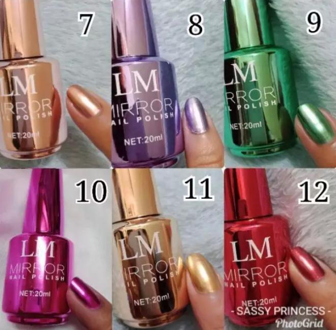 LM Mirror Nail Polish Philippines