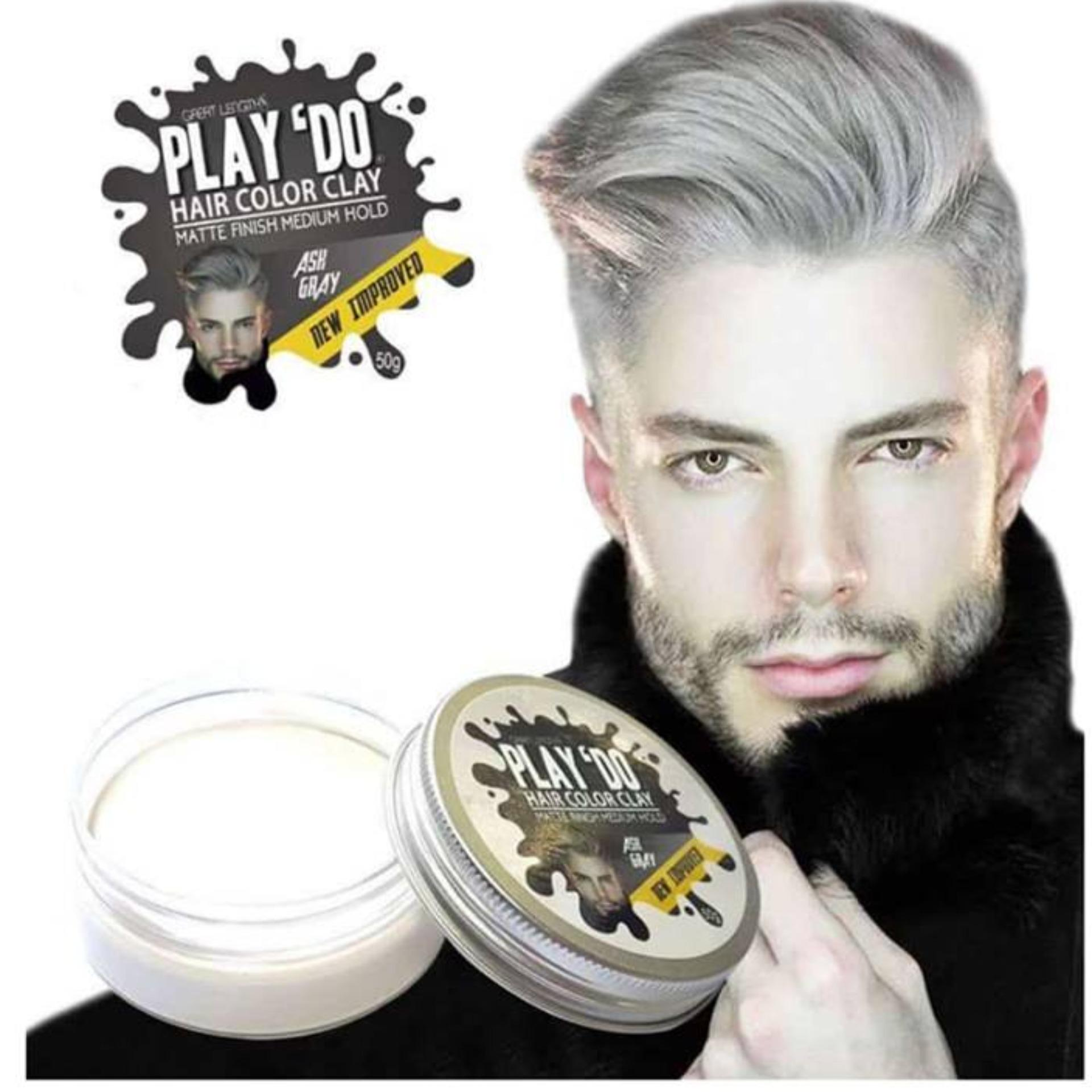 Easy Hair Styles Brands Styling On Sale Prices Set Pomade Gatsby Urban Dry 30 Gr Gel Play Do Color Clay Ash Gray New Improved