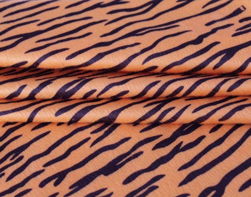 Motif hewan Kain Beludru Harimau pola Motif macan tutul ZEBRA pola sapi kain bahan buas tahap bersablon beludru bulu pendek bahan kain
