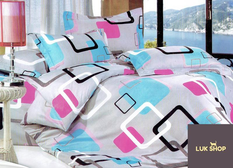 LUK Poly Cotton 3in1 Queen Size Bed Sheet