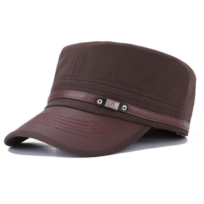 ... Topi Tentara Wanita Pria Topi Pemuda Inggris (Benn Kulit Mati-Putih) - 3 ...