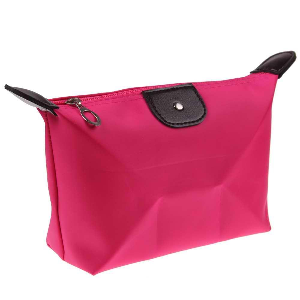 AMOG Fashion Lady Women Travel Make Up Cosmetic pouch bag Clutch Handbag Casual Purse