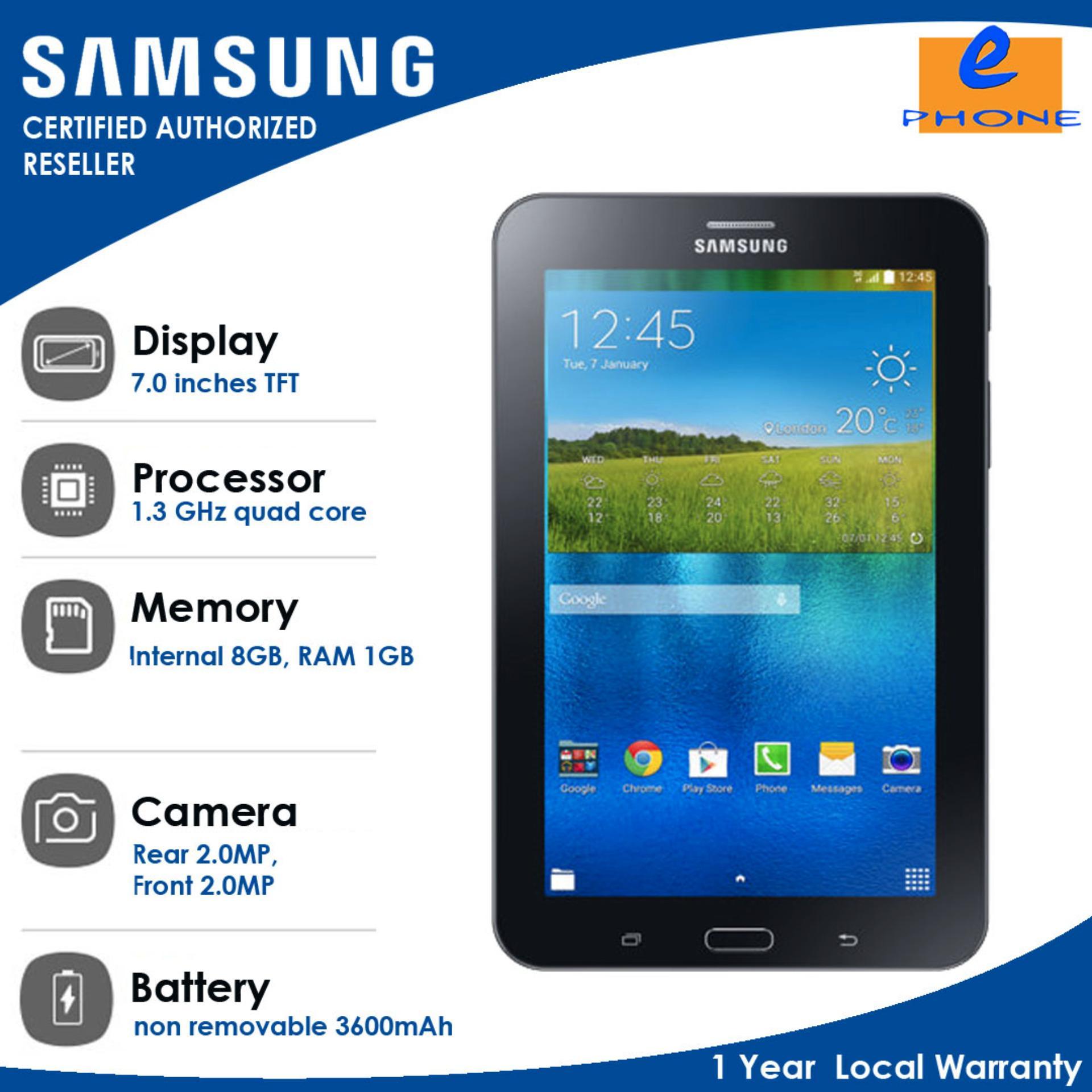 Samsung Galaxy Tab 3 Lite Or 3v Rotate Flip Case Philippines V 8gb Sm T116 Black