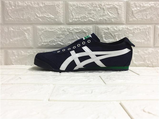 "Asics Original ""ONITSUKA TIGER"" Running Shoe Dark blue White Sneakers  WOMENS MEXICO 66 Canvas 82039e645c"