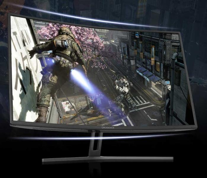 CrossOver 320FC75 Curved Gaming Monitor 32