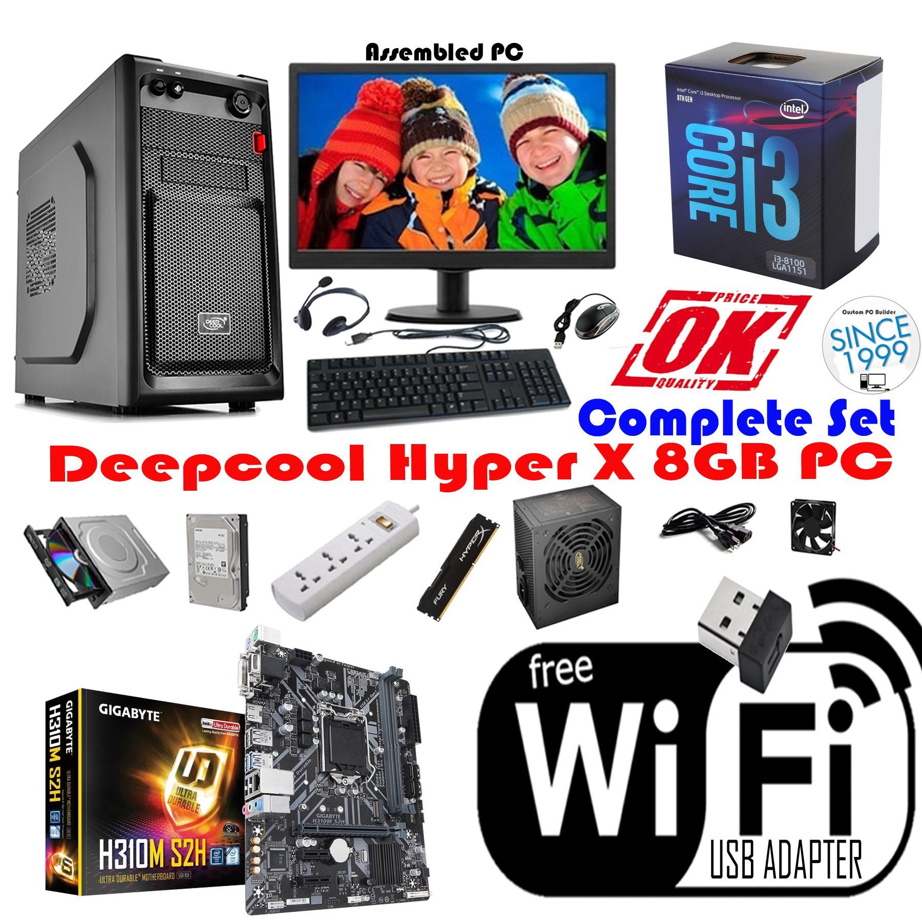 Hyperx Deepcool 8gb Pc Intel Core I3 8100 Coffee Lake Quad 36 Pentium G4600 36ghz Kabylake Socket 1151 Ghz Lga