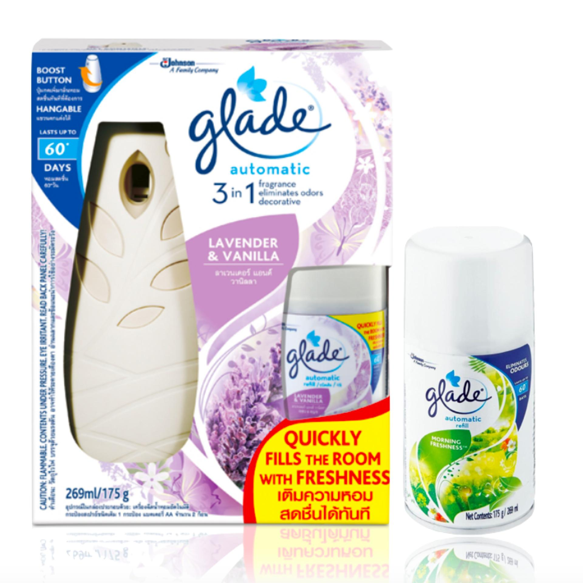 Philippines Best Buy Laundry Household Fragrance 06 09 2018 Twin Pack Glade Matic Spray Refill Ocean Escape Lavender Vanilla Automatic Starter Kit With Morning Freshness