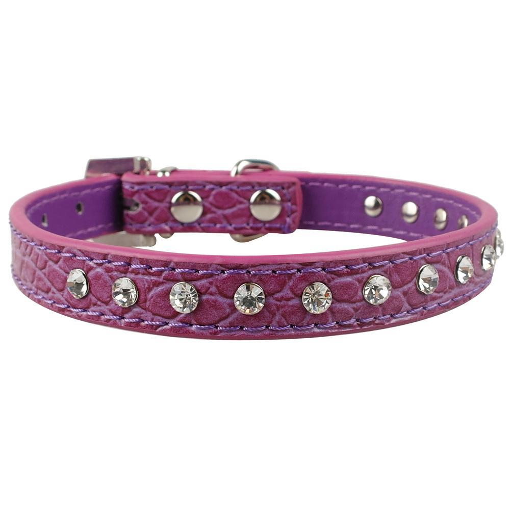 ... Berwarna Merah Muda Moonar. Source · Kristal Halus Tali Leher Anjing Berlian Imitasi Kulit Anak Kalung Kucing Anjing Dapat Disesuaikan 3 Ukuran