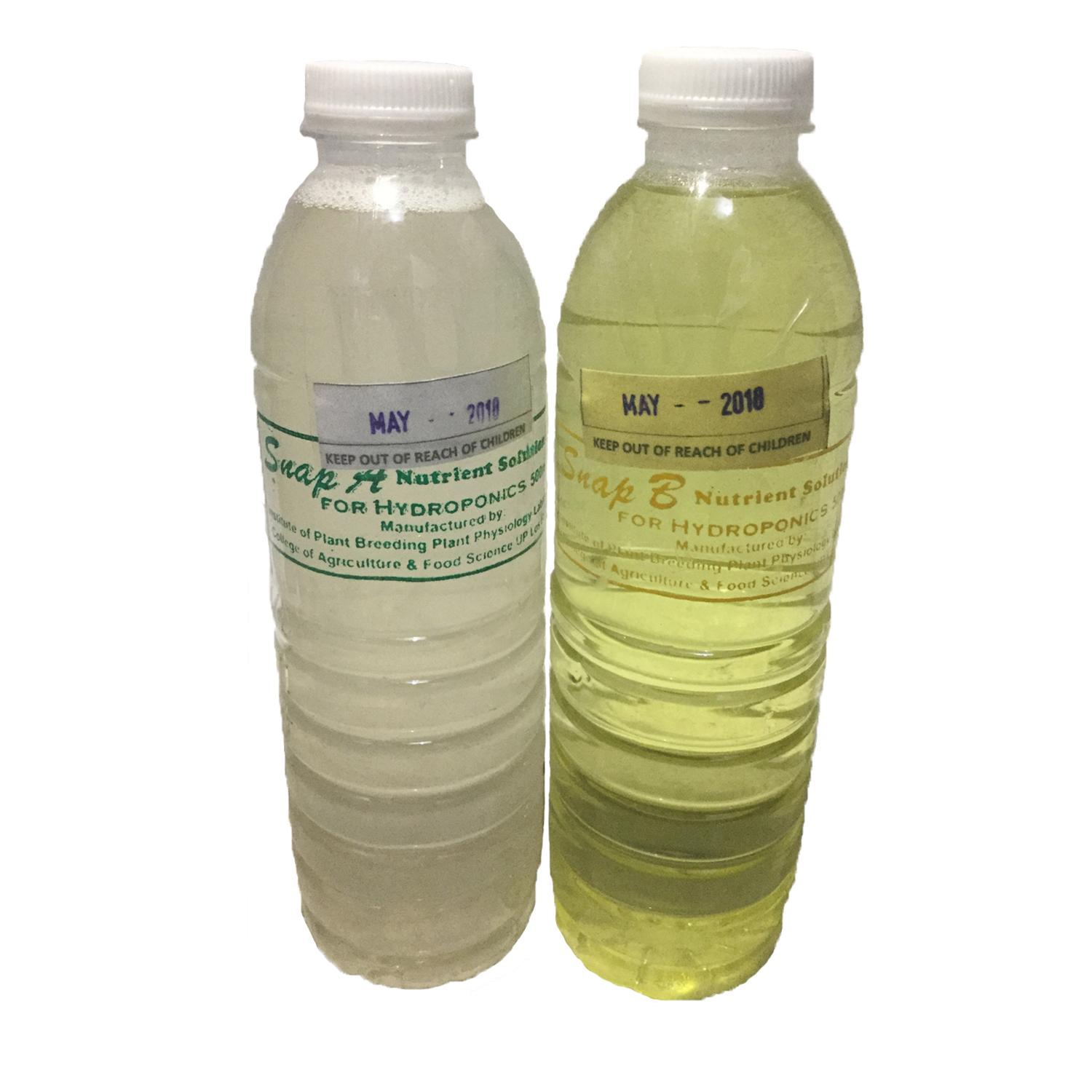 SNAP Hydroponics Nutrient Solution Philippines