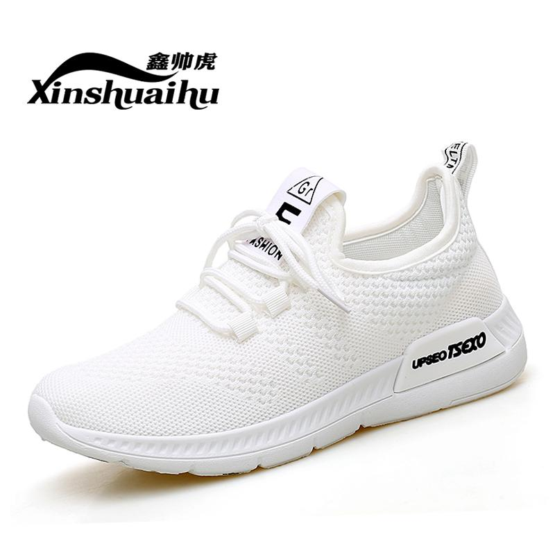 ... 2018 model baru Anyaman Benang sepatu putih kecil sneakers wanita Gaya  Korea netral Ringan casual Sepatu c2b64c21b1