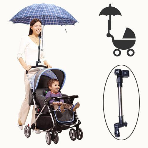 Outops Golf Umbrella Holder Baby Trolley Umbrella Stand For Wheelchair Bike Buggy Cart Baby Pram By Outop Store.