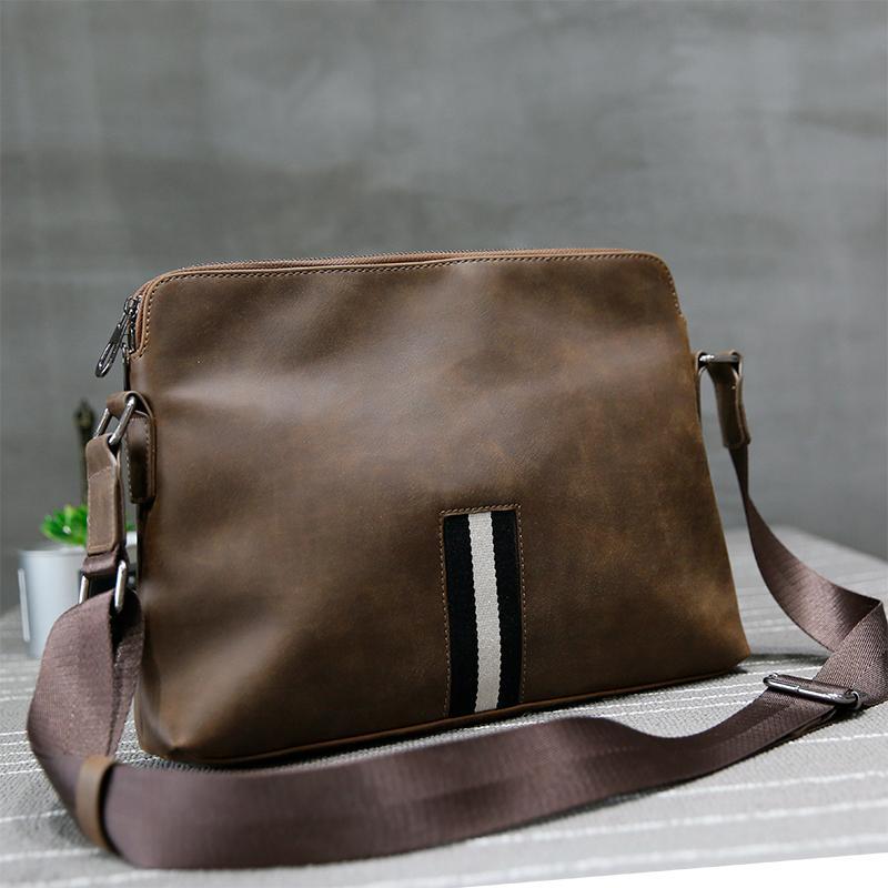 Produk Baru Pria Membungkus Daftar Bahu Di Gila Ma Pi Manusia dari Paket Kepribadian briefcase Rekreasi Pria Cenderung Ku Pembungkus Saat Ini-Internasional