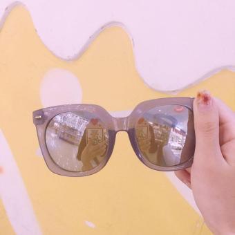 gadis SUN kacamata Percantik wajah kepribadian Gaya Korea pelindung sinar  matahari kacamata modis . 7d0069bbf8